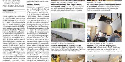El Centro Social de Salcedo seleccionado como candidato a los premios Obra del Año 2017 que conceden  Plataformarquitectura y ArchDaily en español.