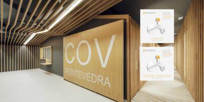 El Colegio Oficial de Veterinarios de Pontevedra y el Campo de Fútbol de Campañó premiados en los London International Creative Competition