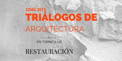 Santos y Mera en las jornadas Triálogos de Arquitectura 2015