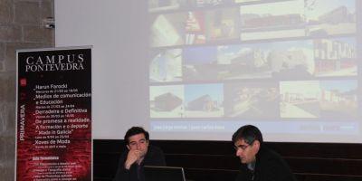 Jose Santos y Jose Carlos Mera participaron con una ponencia en los Triálogos de Arquitectura organizados por el COAG de Pontevedra