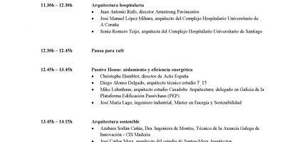 Jose Carlos Mera participa en la mesa de debate de Arquitectura Sostenible el 5 de junio en SICO 2014