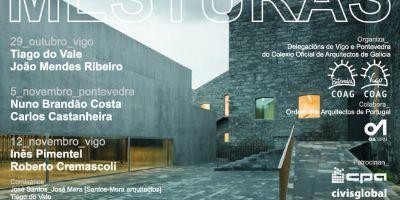 Jose Jorge Santos y Jose Carlos Mera comisarios de las jornadas internacionales de arquitectura Mesturas 2015