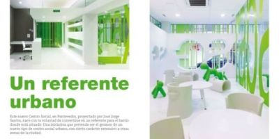 La revista Proyecto Contract publica el Centro Social de O Gorgullón