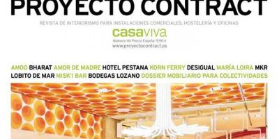 Publicación de la obra del Colegio Oficial de Veterinarios de Pontevedra en la revista PROYECTO CONTRACT