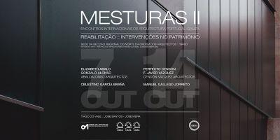 Jose Jorge Santos y Jose Carlos Mera comisarios de los encuentros internacionales de arquitectura Mesturas II