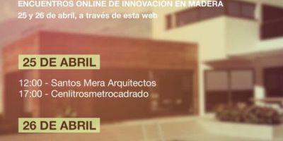 Santos y Mera arquitectos en los Encuentros Online de Innovación en Madera 2018 del Clúster da Madeira e o Deseño de Galicia